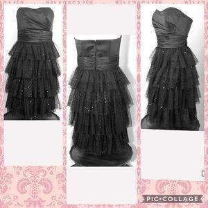 🆕 🌻 db studio Prom Dress Black Tulle Gown